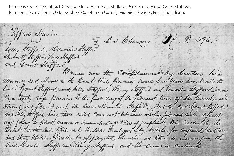 Starling Stafford Genealogy