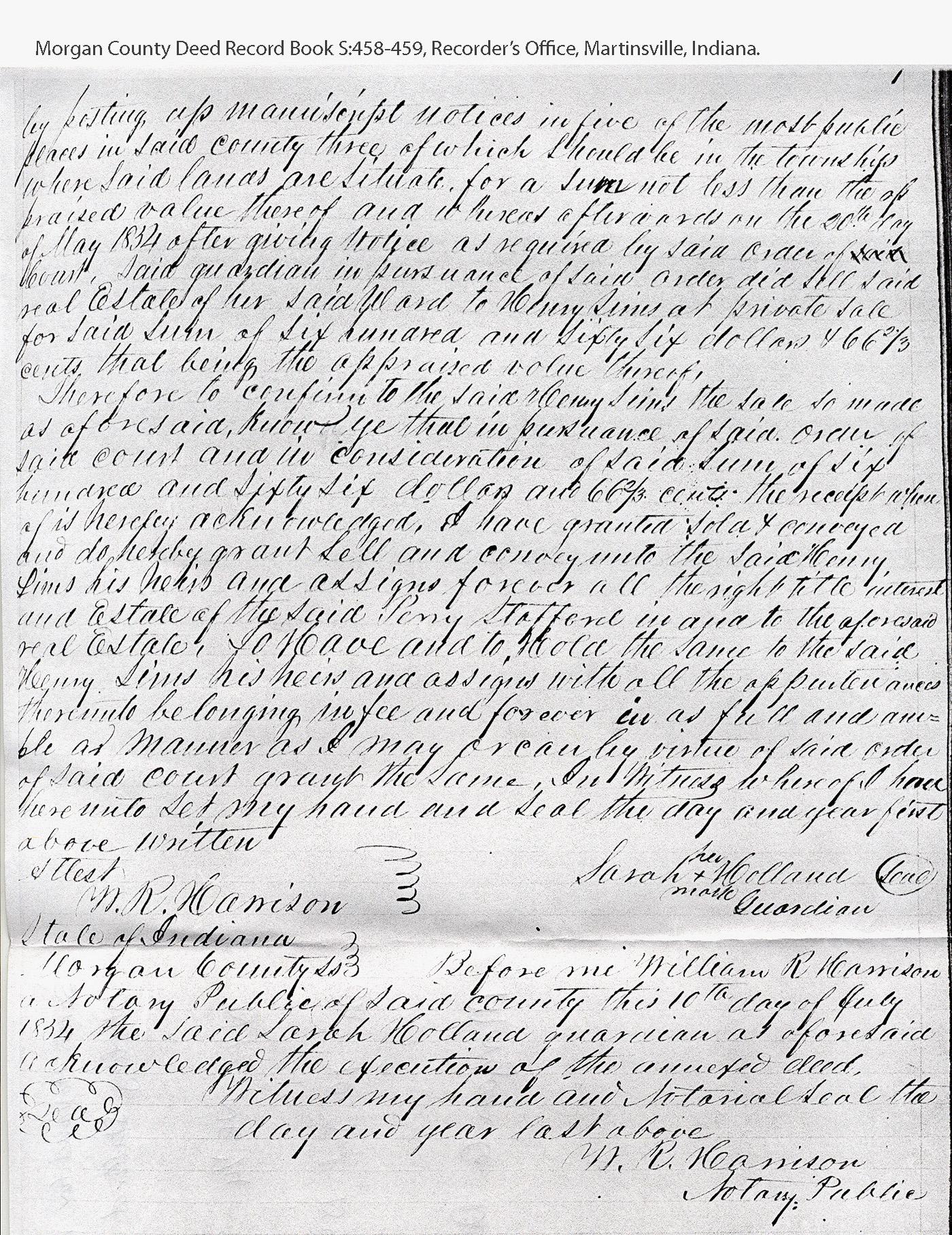 Starling Stafford Genealogy
